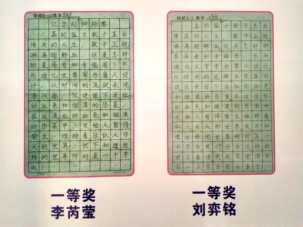 书写美丽汉字,传承中国文化——郑州十九中举行学生
