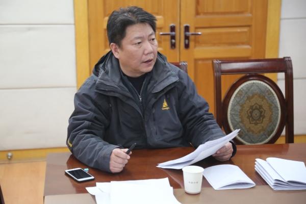 王勇副校长对2016年度学校财务情况进行汇报