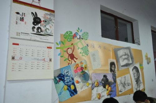 """有体现班级文化核心的""""班训"""",有展示班级荣誉的""""荣誉墙"""",有独具匠心的"""