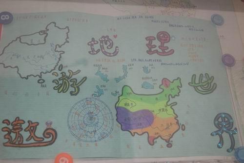 爱我中华 保护地球 手绘地图大赛